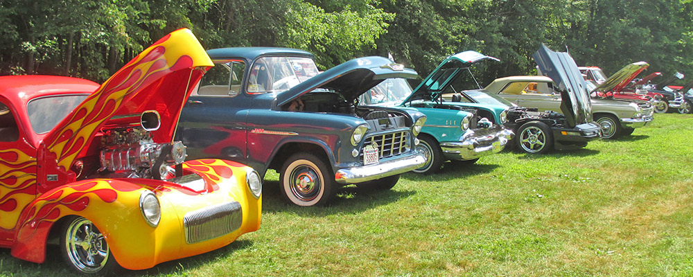 Classic Car Show at Sunsetview Farm Camping Area