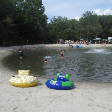 Swimming Pond and Beach
