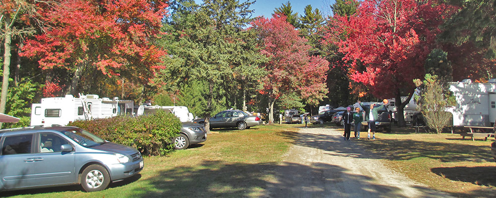 Fall Camping at Sunsetview Farm Camping Area